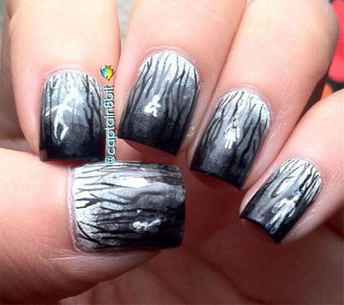 30-Scary-Halloween-Ghost-Nail-Art-Designs-Ideas-2019-Boo-Nails-13