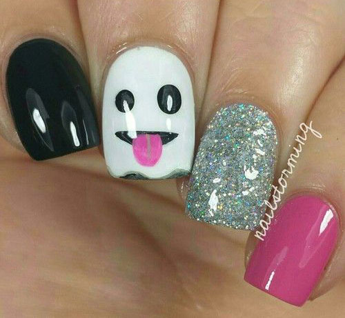 30-Scary-Halloween-Ghost-Nail-Art-Designs-Ideas-2019-Boo-Nails-16