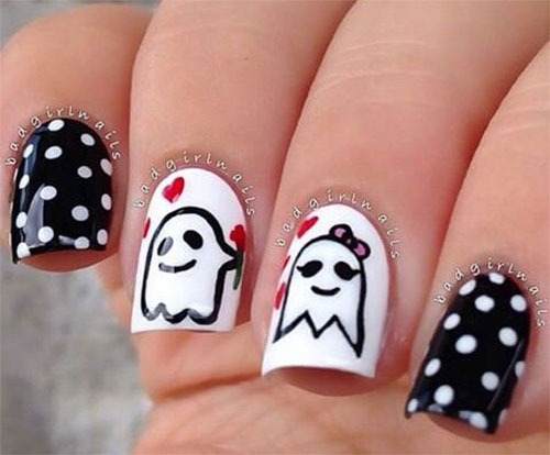 30-Scary-Halloween-Ghost-Nail-Art-Designs-Ideas-2019-Boo-Nails-17