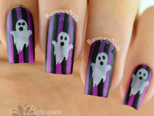 30-Scary-Halloween-Ghost-Nail-Art-Designs-Ideas-2019-Boo-Nails-19