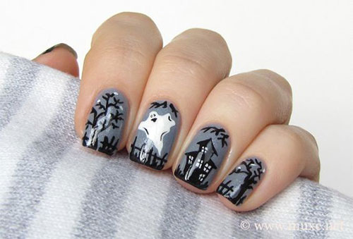 30-Scary-Halloween-Ghost-Nail-Art-Designs-Ideas-2019-Boo-Nails-20
