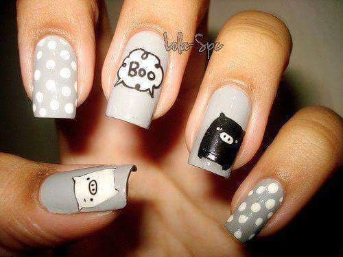 30-Scary-Halloween-Ghost-Nail-Art-Designs-Ideas-2019-Boo-Nails-22