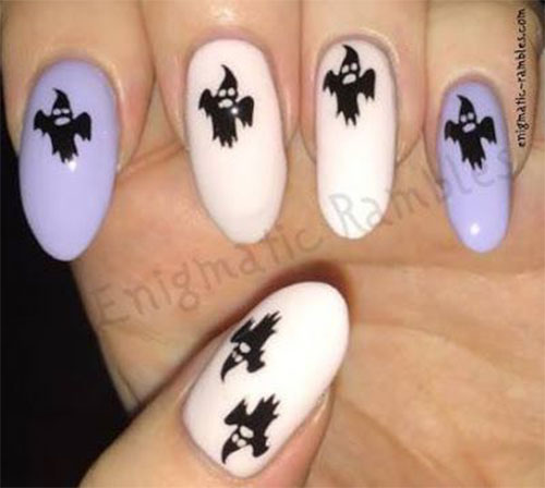 30-Scary-Halloween-Ghost-Nail-Art-Designs-Ideas-2019-Boo-Nails-23