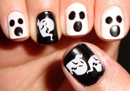 30-Scary-Halloween-Ghost-Nail-Art-Designs-Ideas-2019-Boo-Nails-24