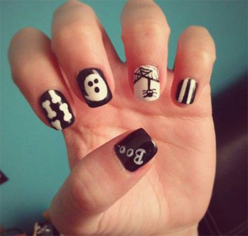 30-Scary-Halloween-Ghost-Nail-Art-Designs-Ideas-2019-Boo-Nails-27