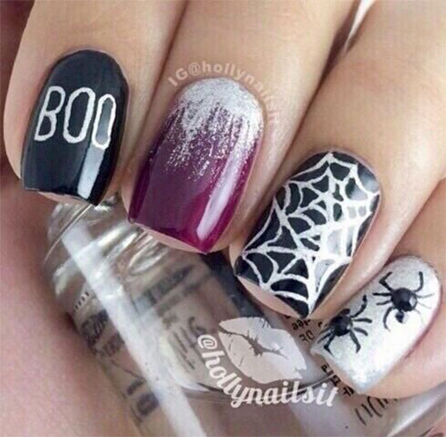 30-Scary-Halloween-Ghost-Nail-Art-Designs-Ideas-2019-Boo-Nails-4
