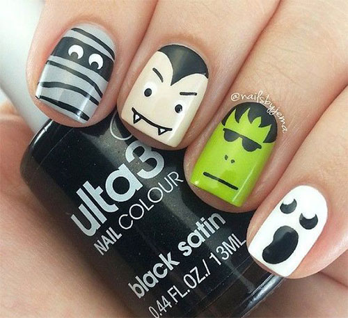 30-Scary-Halloween-Ghost-Nail-Art-Designs-Ideas-2019-Boo-Nails-7