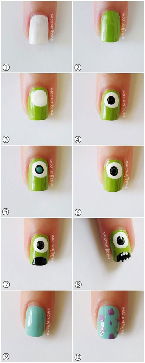 12-Easy-Simple-Halloween-Themed-Nails-Art-Tutorials-For-Beginners-2019-10