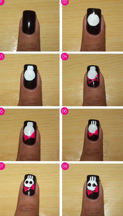 12-Easy-Simple-Halloween-Themed-Nails-Art-Tutorials-For-Beginners-2019-11