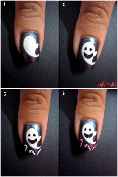 12-Easy-Simple-Halloween-Themed-Nails-Art-Tutorials-For-Beginners-2019-12
