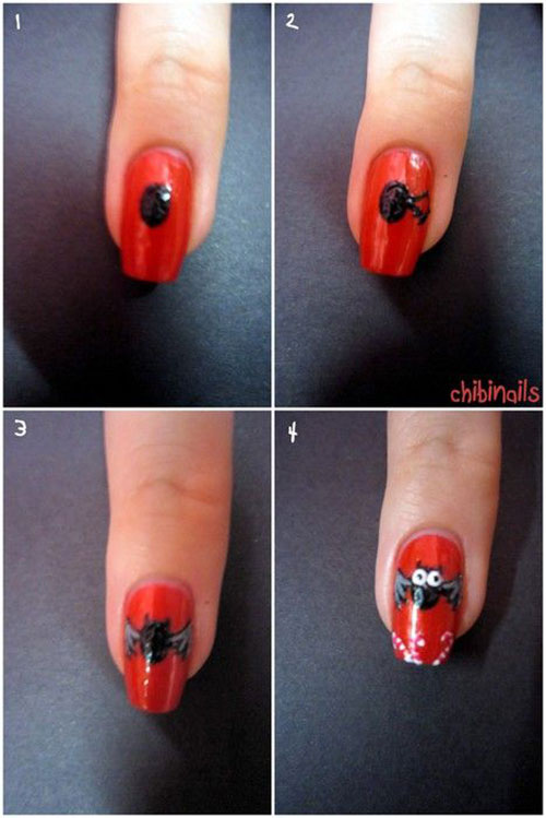 12-Easy-Simple-Halloween-Themed-Nails-Art-Tutorials-For-Beginners-2019-13