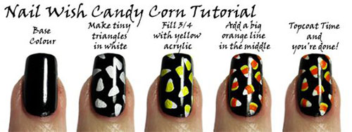 12-Easy-Simple-Halloween-Themed-Nails-Art-Tutorials-For-Beginners-2019-2