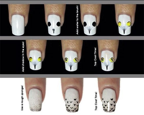12-Easy-Simple-Halloween-Themed-Nails-Art-Tutorials-For-Beginners-2019-4