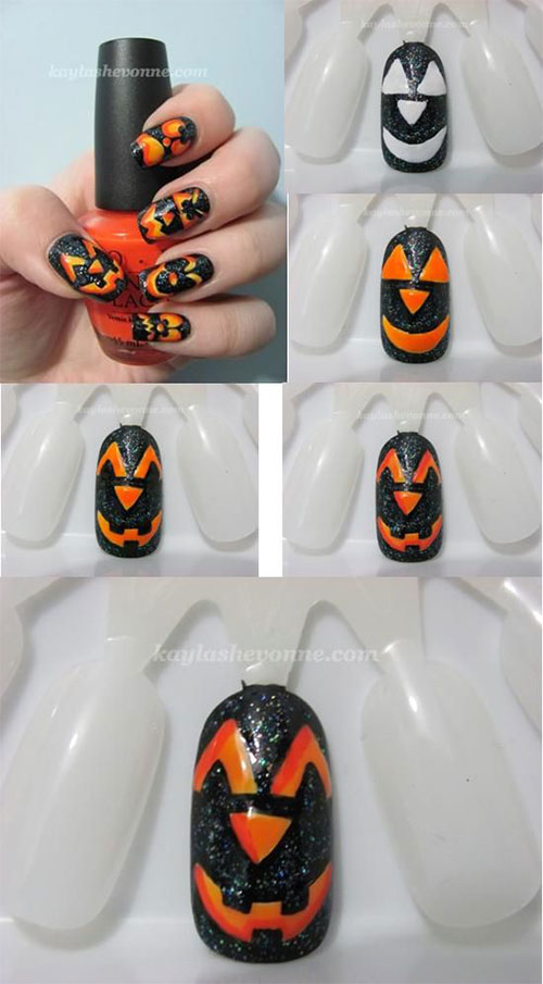 12-Easy-Simple-Halloween-Themed-Nails-Art-Tutorials-For-Beginners-2019-9