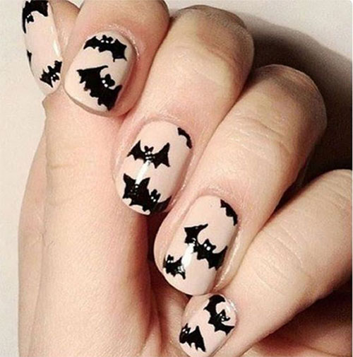15-Easy-Scary-Halloween-Bat-Nails-Art-Designs-Ideas-Trends-2019-10
