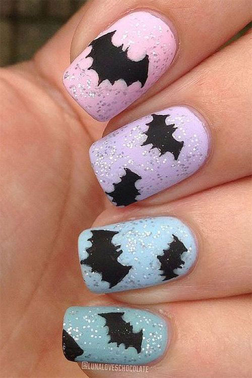 15-Easy-Scary-Halloween-Bat-Nails-Art-Designs-Ideas-Trends-2019-12