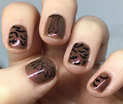 15-Easy-Scary-Halloween-Bat-Nails-Art-Designs-Ideas-Trends-2019-5