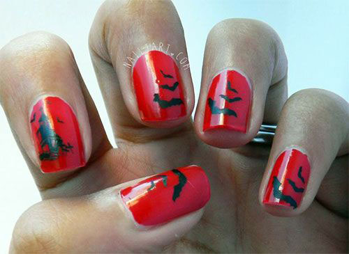 15-Easy-Scary-Halloween-Bat-Nails-Art-Designs-Ideas-Trends-2019-7