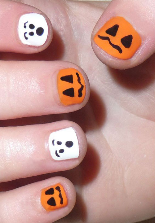 15-Last-Minute-Quick-Scary-Halloween-Nails-Art-Designs-2019-14