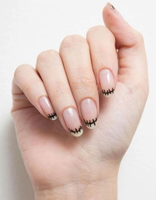 15-Last-Minute-Quick-Scary-Halloween-Nails-Art-Designs-2019-16