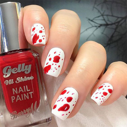 15-Last-Minute-Quick-Scary-Halloween-Nails-Art-Designs-2019-6