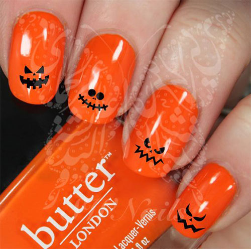 15-Last-Minute-Quick-Scary-Halloween-Nails-Art-Designs-2019-7