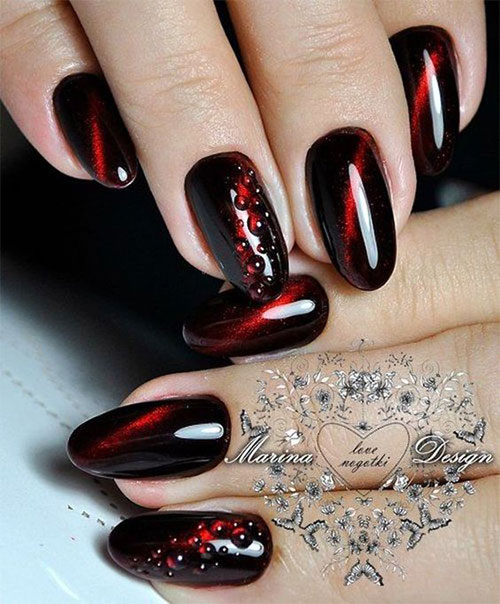 20-Creepy-Halloween-Black-Red-Nails-Art-Designs-Ideas-2019-Nail-Polish-10