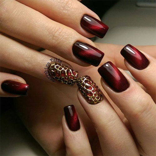 20-Creepy-Halloween-Black-Red-Nails-Art-Designs-Ideas-2019-Nail-Polish-11
