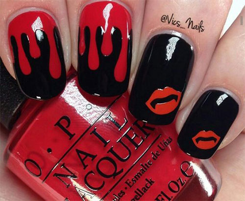 20-Creepy-Halloween-Black-Red-Nails-Art-Designs-Ideas-2019-Nail-Polish-14