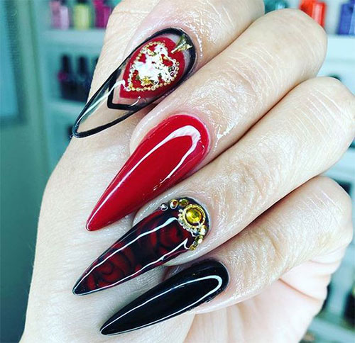 20-Creepy-Halloween-Black-Red-Nails-Art-Designs-Ideas-2019-Nail-Polish-17