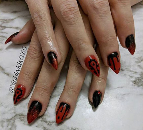 20-Creepy-Halloween-Black-Red-Nails-Art-Designs-Ideas-2019-Nail-Polish-3