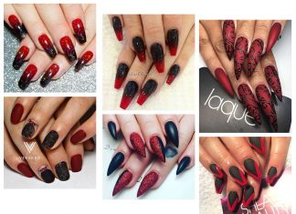 20-Creepy-Halloween-Black-Red-Nails-Art-Designs-Ideas-2019-Nail-Polish-F