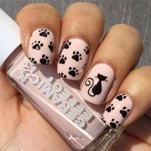 20-Spooky-Halloween-Black-Cat-Nails-Art-Designs-Ideas-2019-12
