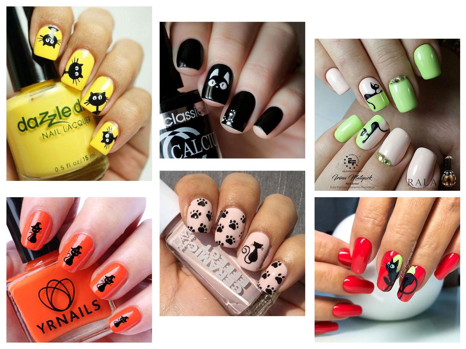 20-Spooky-Halloween-Black-Cat-Nails-Art-Designs-Ideas-2019-F