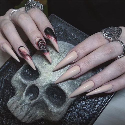 25-Horror-Scary-Halloween-Witch-Nails-Art-Designs-Ideas-2019-15
