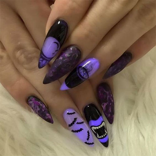 25-Horror-Scary-Halloween-Witch-Nails-Art-Designs-Ideas-2019-3