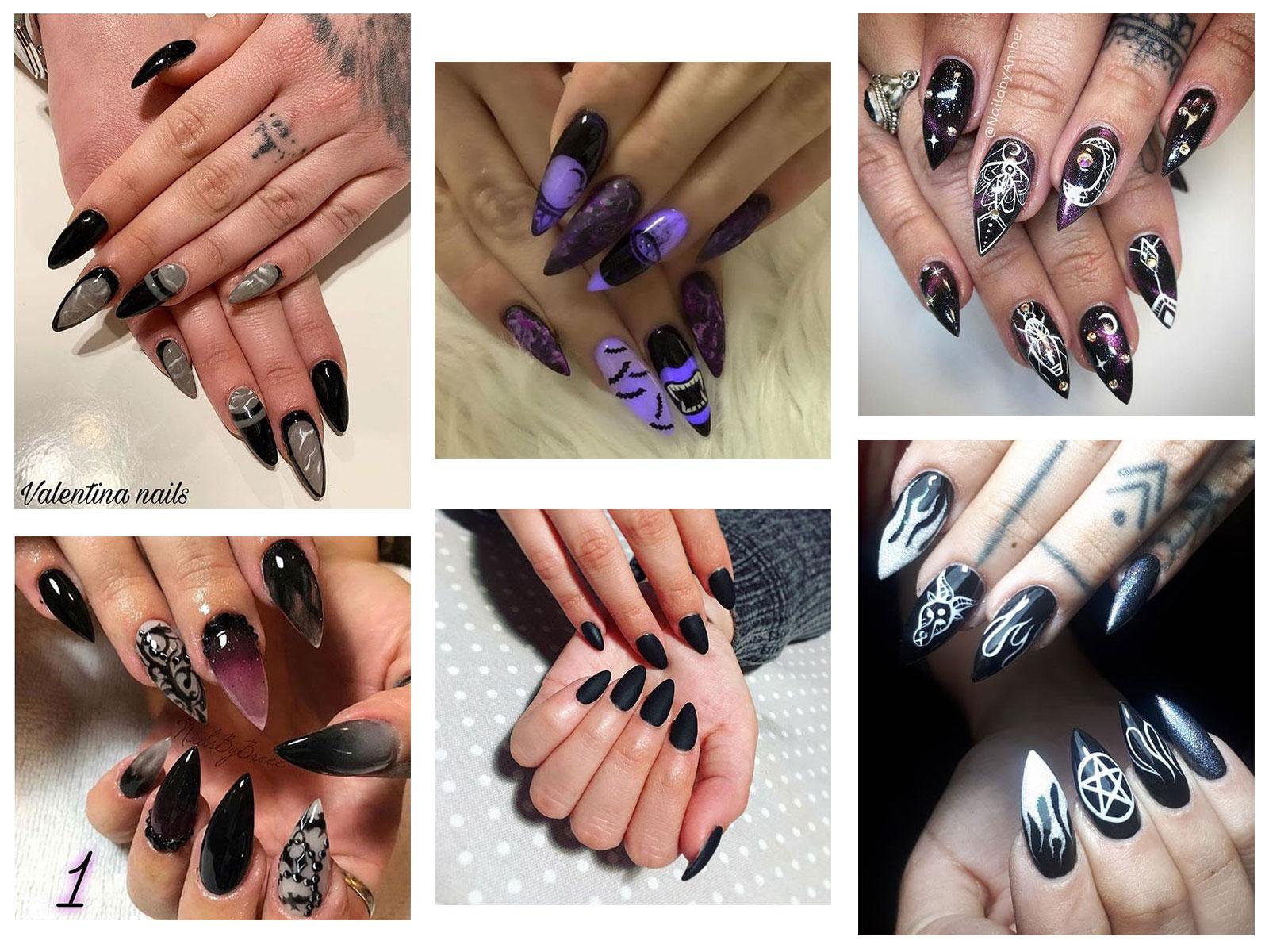25 Horror \u0026 Scary Halloween Witch Nails Art Designs \u0026 Ideas