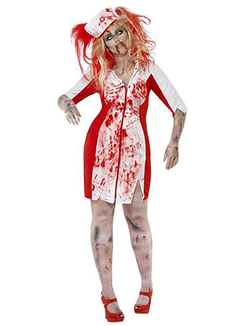 50-Creepy-Scary-Cheap-Halloween-Costume-Ideas-For-Girls-Women-2019-11