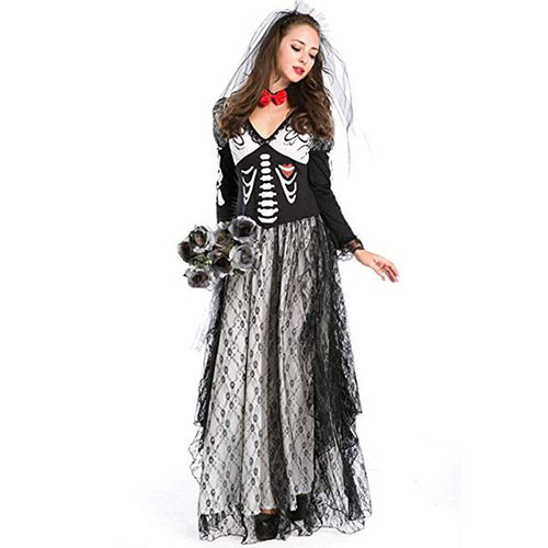 50-Creepy-Scary-Cheap-Halloween-Costume-Ideas-For-Girls-Women-2019-19