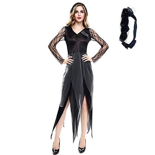 50-Creepy-Scary-Cheap-Halloween-Costume-Ideas-For-Girls-Women-2019-22