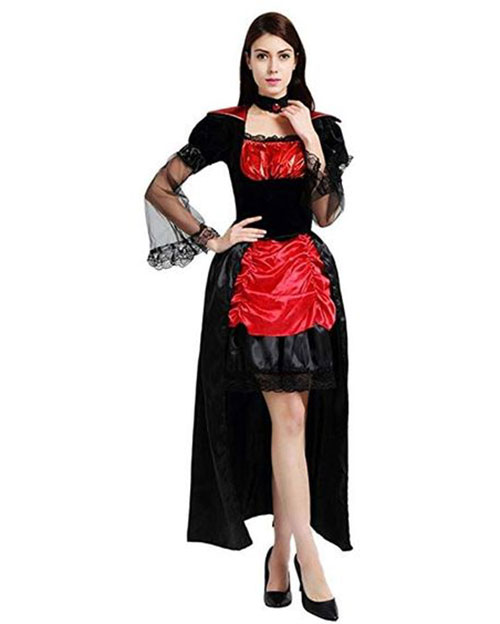 50-Creepy-Scary-Cheap-Halloween-Costume-Ideas-For-Girls-Women-2019-24