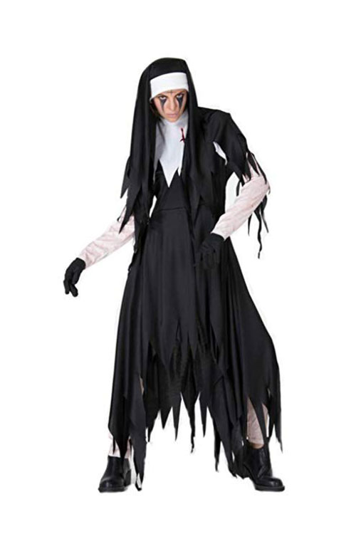 50-Creepy-Scary-Cheap-Halloween-Costume-Ideas-For-Girls-Women-2019-26