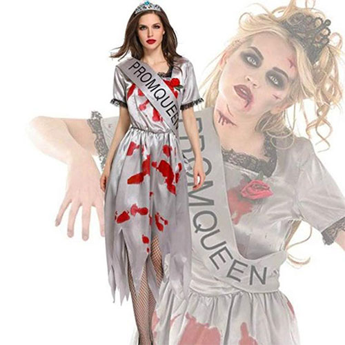 50-Creepy-Scary-Cheap-Halloween-Costume-Ideas-For-Girls-Women-2019-41