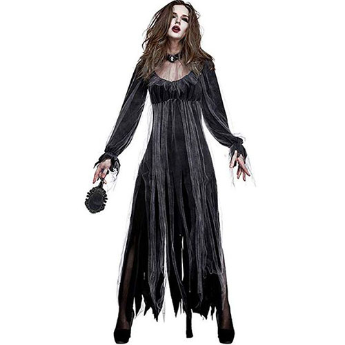 50-Creepy-Scary-Cheap-Halloween-Costume-Ideas-For-Girls-Women-2019-6