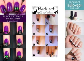 Easy-Step-By-Step-Black-Cat-Halloween-Nails-Art-Tutorials-For-Learners-2019-F