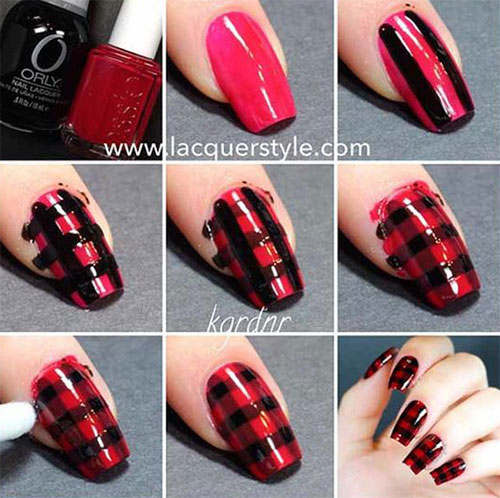 Step-By-Step-Black-Red-Halloween-Nails-Art-Tutorials-For-Beginners-2019-3