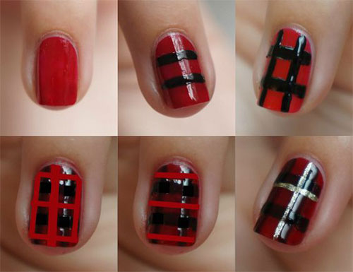 Step-By-Step-Black-Red-Halloween-Nails-Art-Tutorials-For-Beginners-2019-6