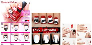 Step-By-Step-Halloween-Vampire-Nails-Art-Tutorials-For-Beginners-2019-F