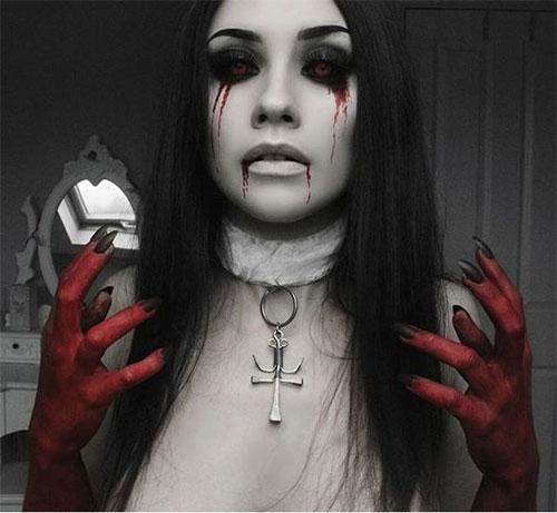 10-Vampire-Halloween-Makeup-Looks-Styles-Ideas-Trends-2019-5