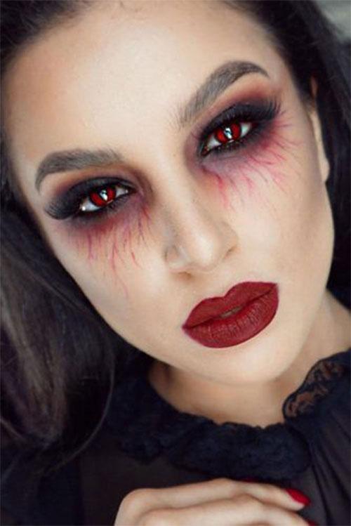 10-Vampire-Halloween-Makeup-Looks-Styles-Ideas-Trends-2019-9